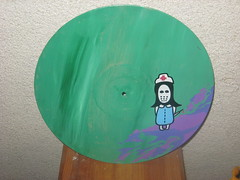 12 inch nurse agentemorillas,str8 out the book (Putup or shutup) Tags: new works putup artputup canvassputup