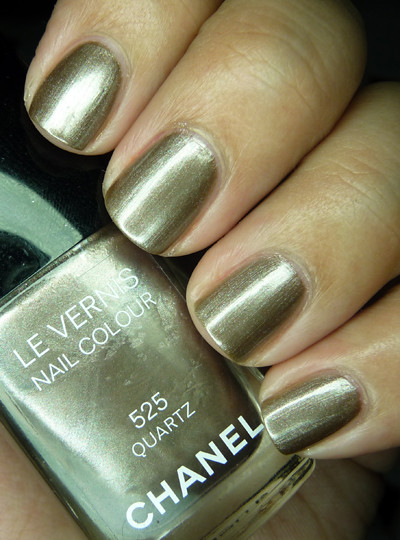 Chanel Quartz - three coats