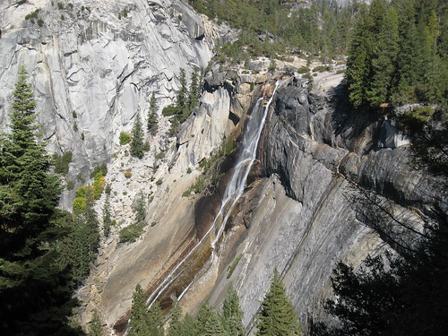 Nevada Falls from a distance