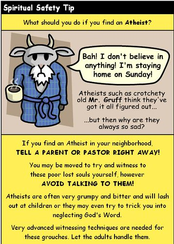Oh Noes! Atheists!