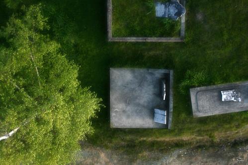Graves in Spring