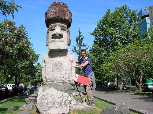 Moai auténtico