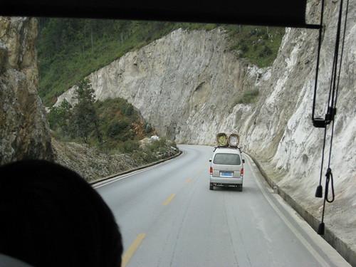 Carretera Zhongdian - Lijiang