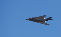 F117 Flyby (jhuffmanPhotography) Tags: speed nikon military jets navy airshow telephoto airforce lockheed usaf stunts f117 70200mm airforcebase unitedstatesairforce stealthfighter pointmagu d80 groundattackaircraft lockheedf117nighthawk