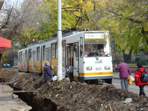 Bucarest centre-18 Tram