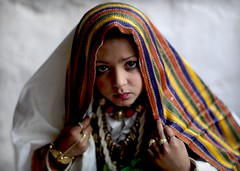 Veild girl in Ghadames, Libya (Eric Lafforgue) Tags: africa portrait woman girl face female eyes veil northafrica femme culture tribal yeux hasselblad explore tribes tradition tribe ethnic libya fille voile tribo visage headdress headwear ethnology headgear ghadames tribu libia libye libyen veiledwoman coiffe ghadafi h3d  lbia 13259 tribalgirl veilled lafforgue italiancolony ethnie jamahiriya libi ericlafforgue libiya  ribia liviya khadafi ghadamis libija   tribalgirls femmevoilee      lbija  lby  libja lbya liiba livi