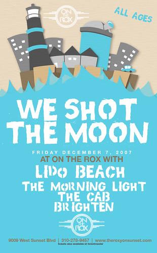 We Shot The Moon - 12/7