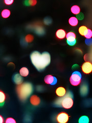 the accidental bokeh heart. by Disco ♥ Tetris