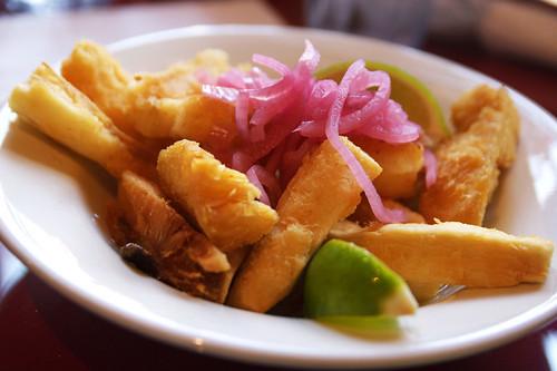 fried yucca!