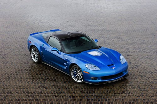 Фото нового Chevrolet Corvette ZR1