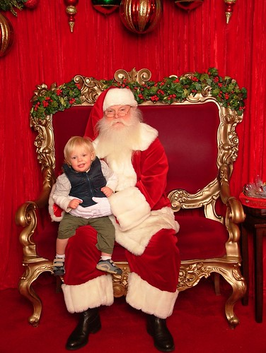 Henry & Santa