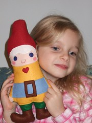 Emily and Mrs Gnome