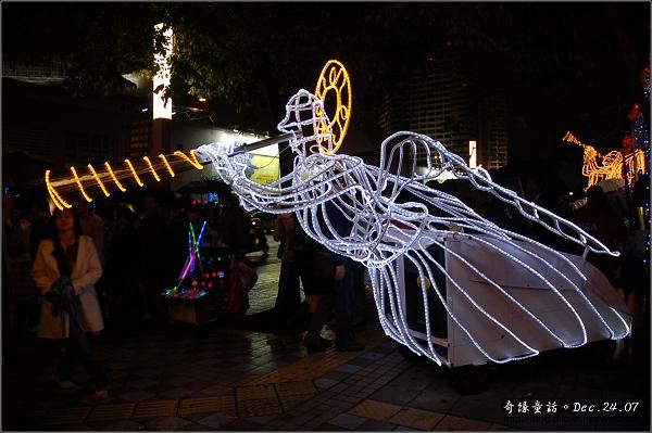 【城市】天使號角 吹響聖誕夜(台北信義)