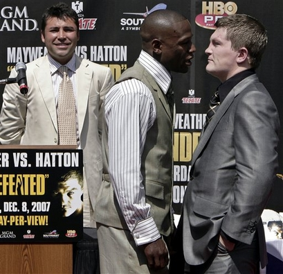 Mayweather Hatton Boxing