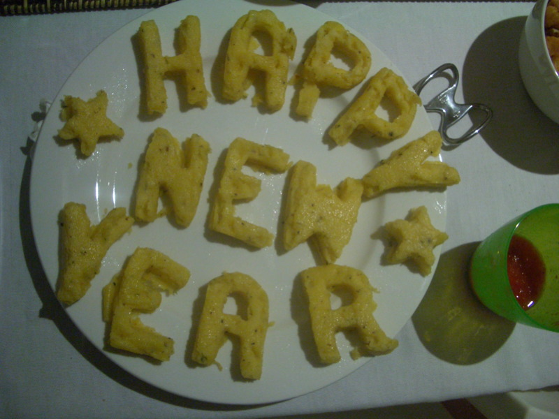 Happy New Year Polenta