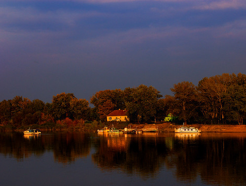 Evening on Danube