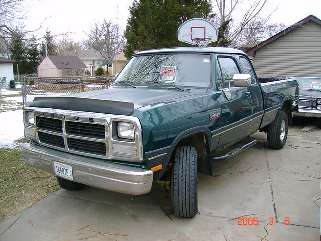 truck 4x4 diesel 1993 dodge ram cummins powerwagon powerram