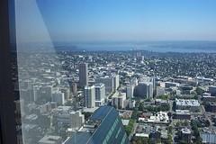 View from the Columbia Tower, Seattle, WA (djwudi) Tags: seattle usa washington downtown kodak bankofamericatower columbiatower dx3500