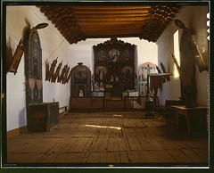 Church of Trampas, Taos Co., N[ew] M[exico] (LOC)