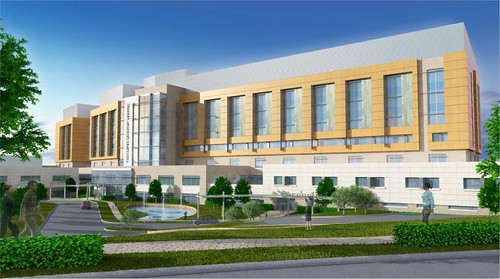 New Washington Adventist Hospital Rendering