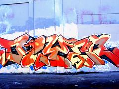DYZER (worsebrains) Tags: art graffiti berkeley tag tracks dzyer