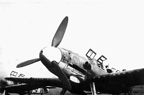 Warbird picture - Bf 109 G12