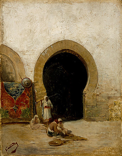 At the Gate of the Seraglio 1870