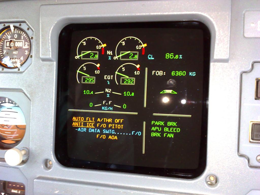 E/WD A321 RTO
