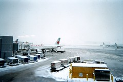 YYZ, in the snow