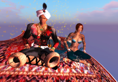 Magic carpet ride with the King of Samarkand