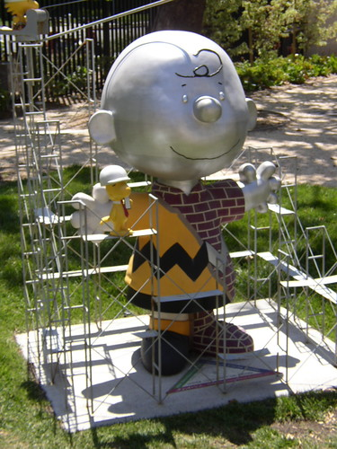 Kathy's 03 vacation: Building Charlie Brown