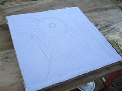 Batik #2 - Freehand in graphite