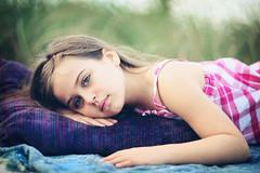 Archive Treasure (Liza Edith Photography) Tags: portrait beach girl beautiful canon 85mm 5d