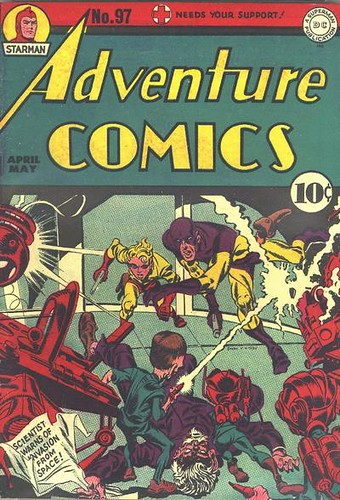 Cover of Adventure Comics #97 dated April/May 1945