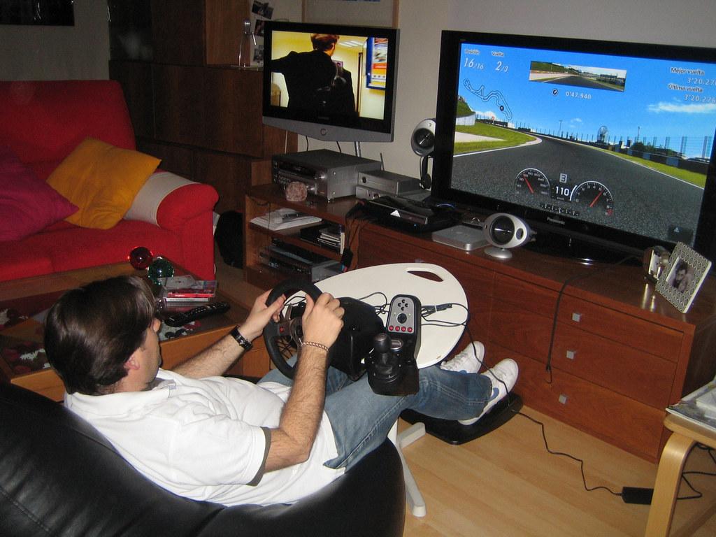 PS3, GT5 & G25