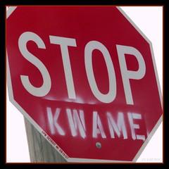 Stop Kwame (lorainedicerbo) Tags: sign geotagged mayor michigan detroit cocky arrogant michiganfavorites stop stopsign kwame geotag liar loraine resigned ignorant kilpatrick jailbird kwamekilpatrick perjury obstructionofjustice hesout dicerbo stopkwame expdet040408 geotaggedmichigan lorainedicerbo