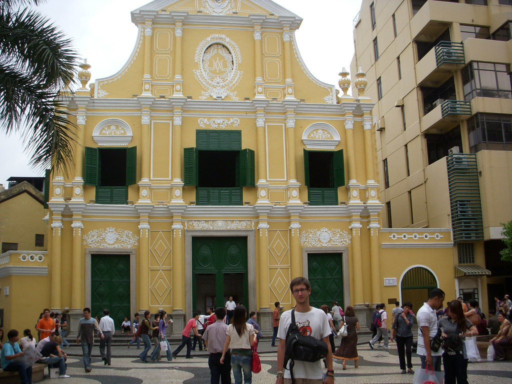 arquitectura portuguesa en macao