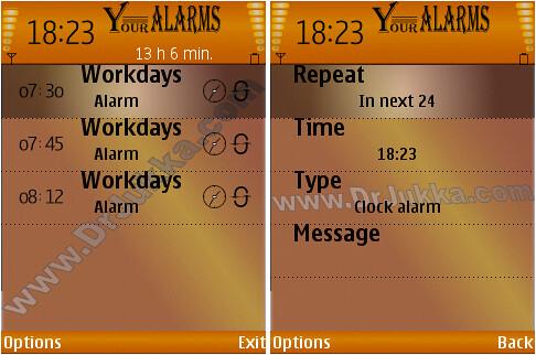 Your Alarm