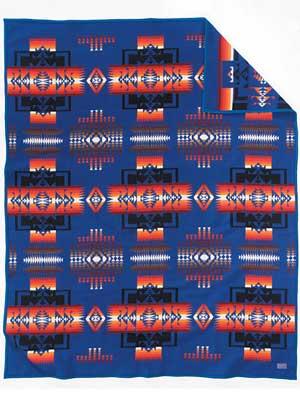 Pendleton Chief Joseph Crib Blanket