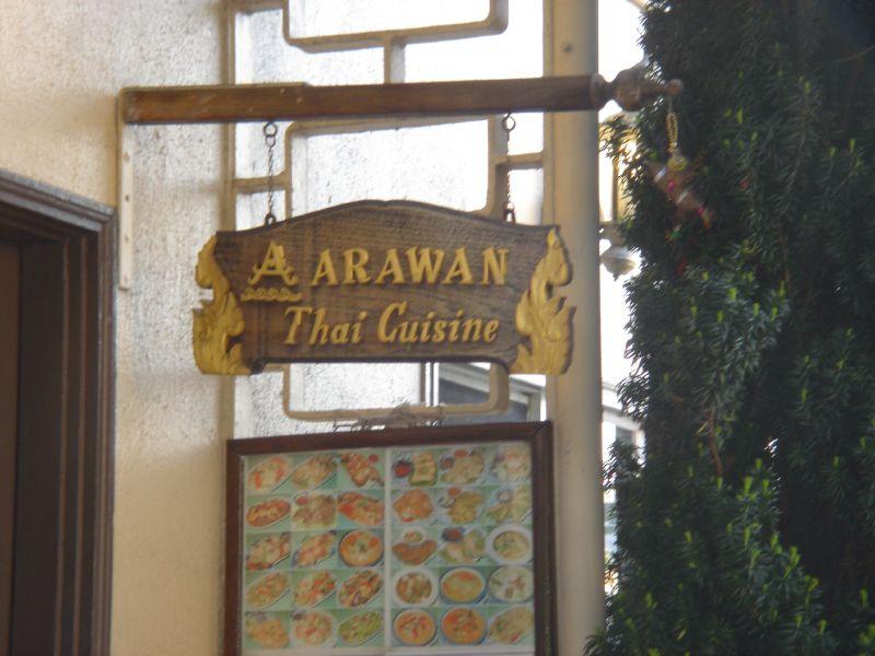 Arawan signpost