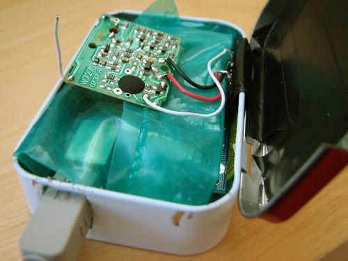 Doorbell/Arduino/Altoids