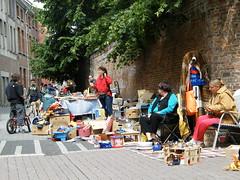 Rommelmarkt in de Kroonstraat