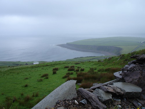 The Atlantic meets the Irish coast off Cahirciveen.