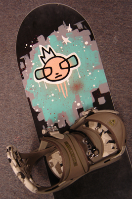 commission - snowboard for dennis
