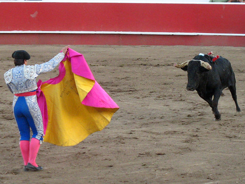 Fighting Mad, California Bloodless Bullfights