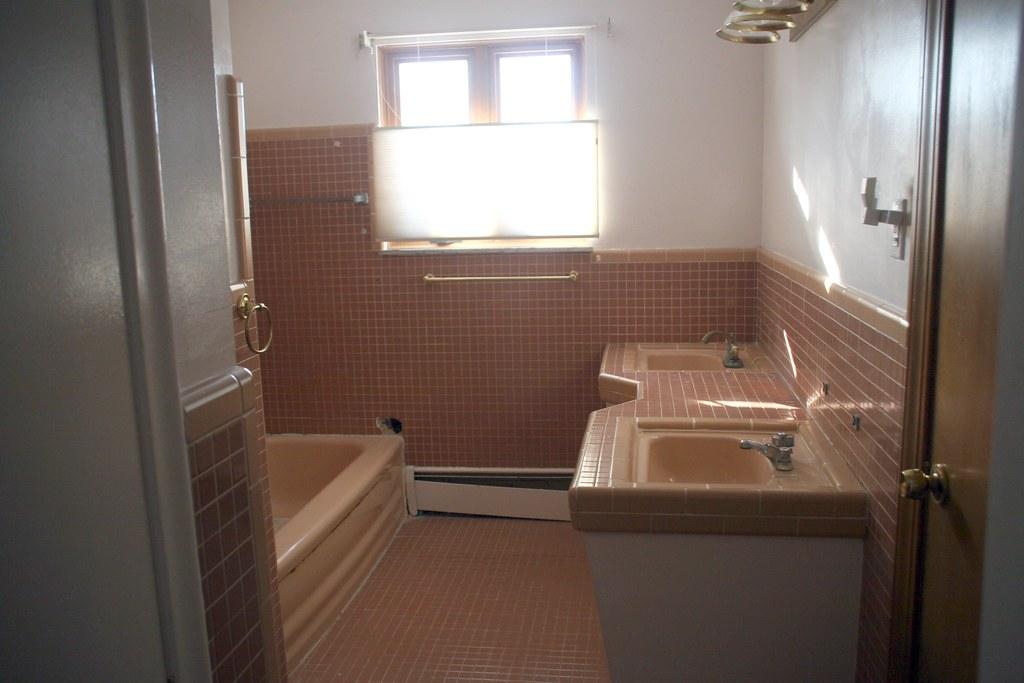 Good Bye Pink Bathroom