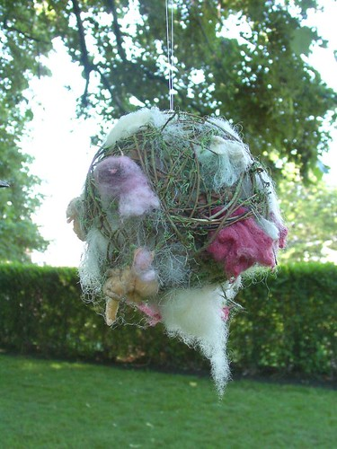 Wool Ball for the Birds