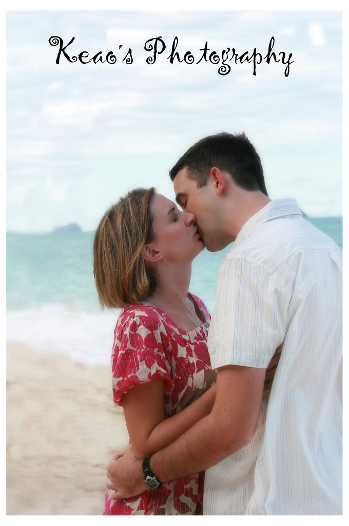 A wedding vow renewal in Hawaii