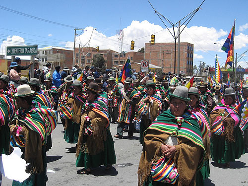 indigenas de Bolivia