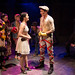 BoHo Theatre - Urinetown - Courtney Mack (Hope) and Henry McGinniss (Bobby) with ensemble 1